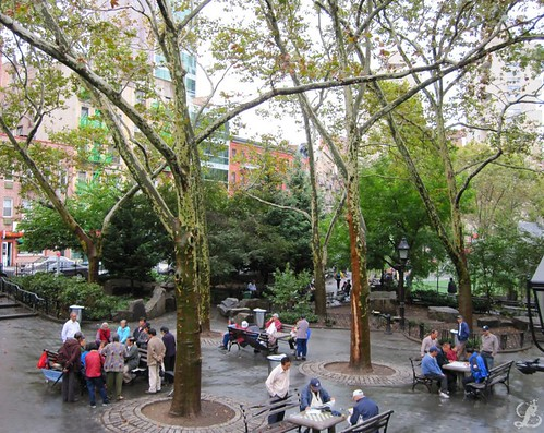 Park in China Town
