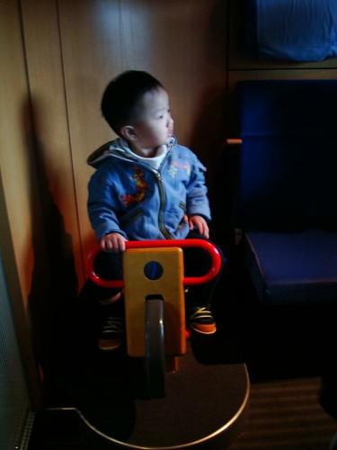 德國IC火車上面有兒童專屬的包廂...