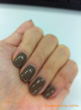 first ever manicure