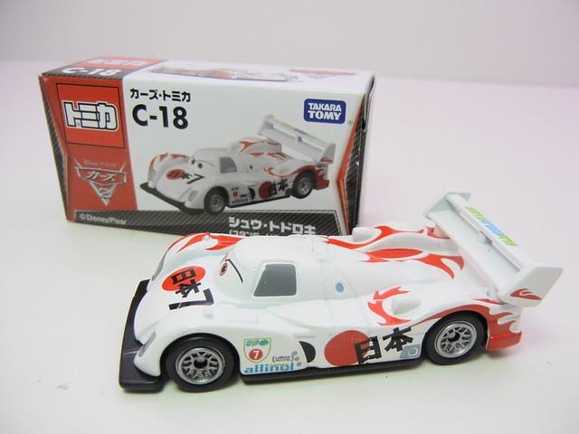 disney cars 2 tomica c-18 shu todoroki (2)