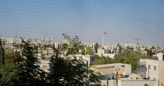 Amman - Flag through squares