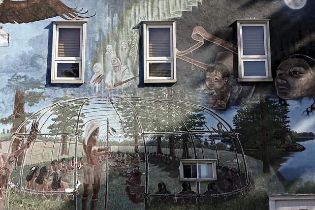 aboriginal mural