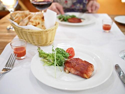 Scamorza con Prosciutto, Pietrasanta Italian Restaurant, 5B Portsdown Road, Wessex Village, Singapore