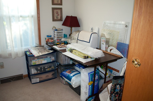 Semi-clean sewing room