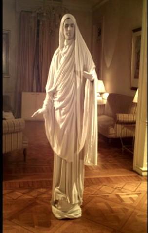 Estatua Blanca