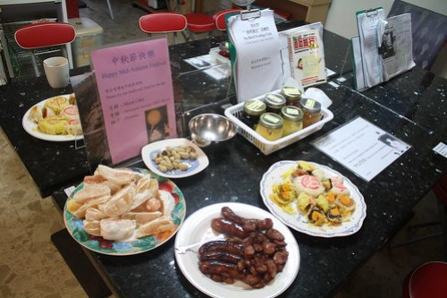 [台湾2.5] ユースホステルの朝食コーナー