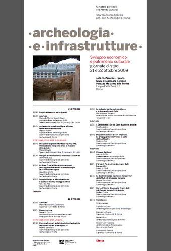 Rome, The Imperial Fora Project (1998-2011) - Documents [in PDF]: Roma, Archeologia e [Metropolitane a Roma] Infrastrutture - Sviluppo economico e patrimonio culturali, giornate di studi, MIBAC / SSBAR (21-22/10/2009). by Martin G. Conde