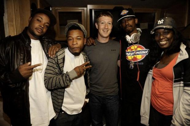 Mark ZUckerberg, Snoop Dogg