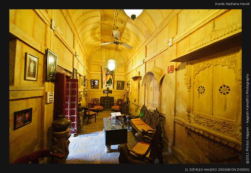Inside Nachana Haveli