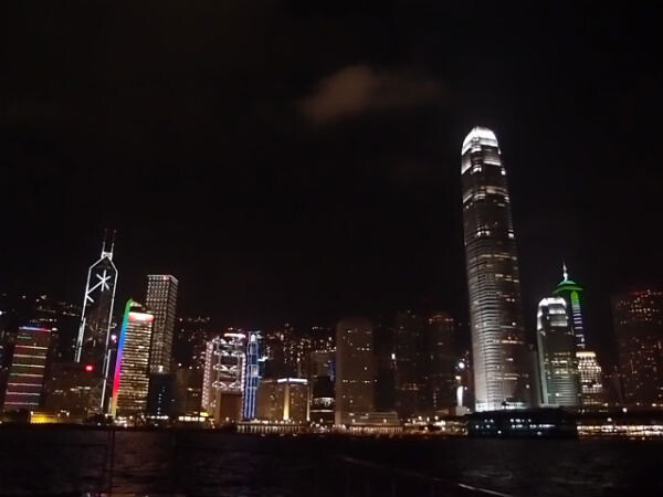 Hong Kong's nightscape