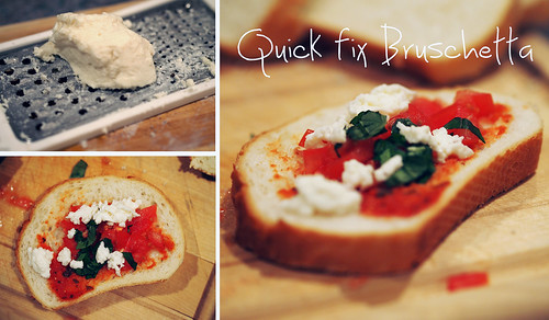 Quick Bruschetta by Parinita