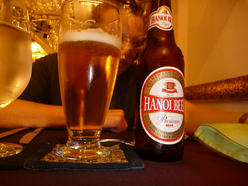 Col's first Vietnamese beer