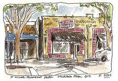 woodstocks thumbnail sketch