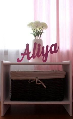nursery bedside table