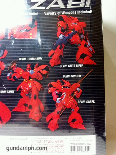 MSIA DX Sazabi 12 inch model (7)