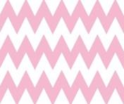 pink chevron brownpaperpackages