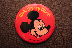 Mickey Mouse Button