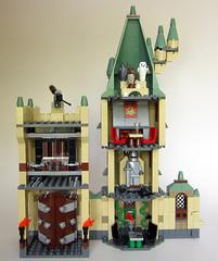 Hogwarts Castle - Observatory & Gryffindor Tower [Reverse]