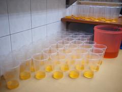 Syrup in cups, Rochor Original Bean Curd, Selegie