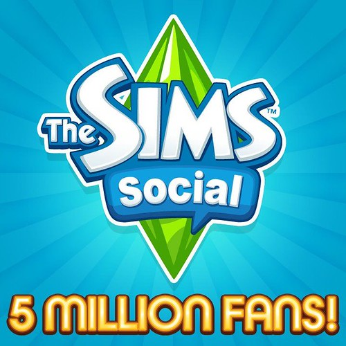 The Sims Social and 5 Million Fans!