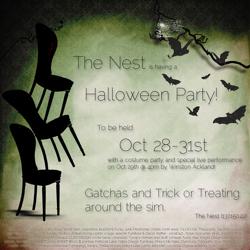 The Nest Halloween Party by Isla Gealach