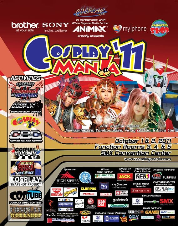 Cosplay Mania 11 SMX Convention Center October 1 2 2011