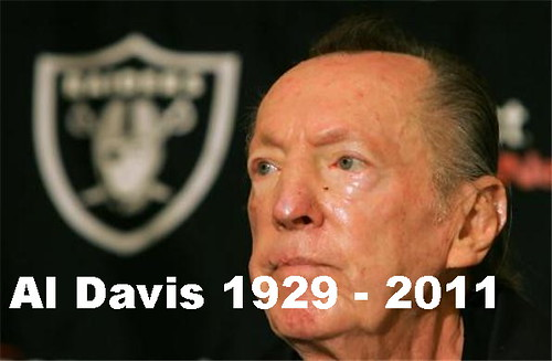 Al Davis - Great Oakland Raiders Owner Dies - RIP by zennie62