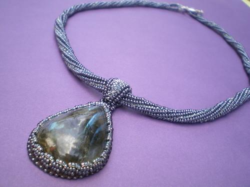 Northern Lights Labrodorite Necklace