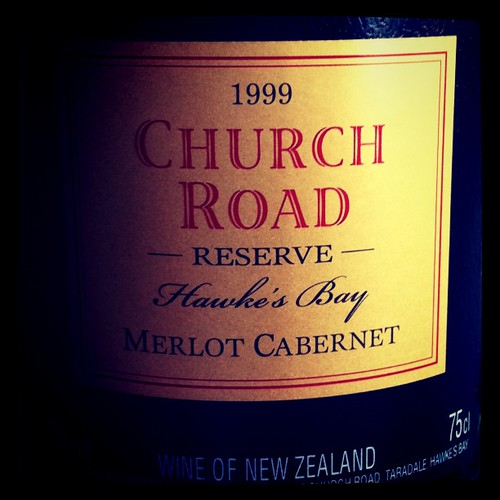 Church Road Reserve Merlot Cabernet 1999