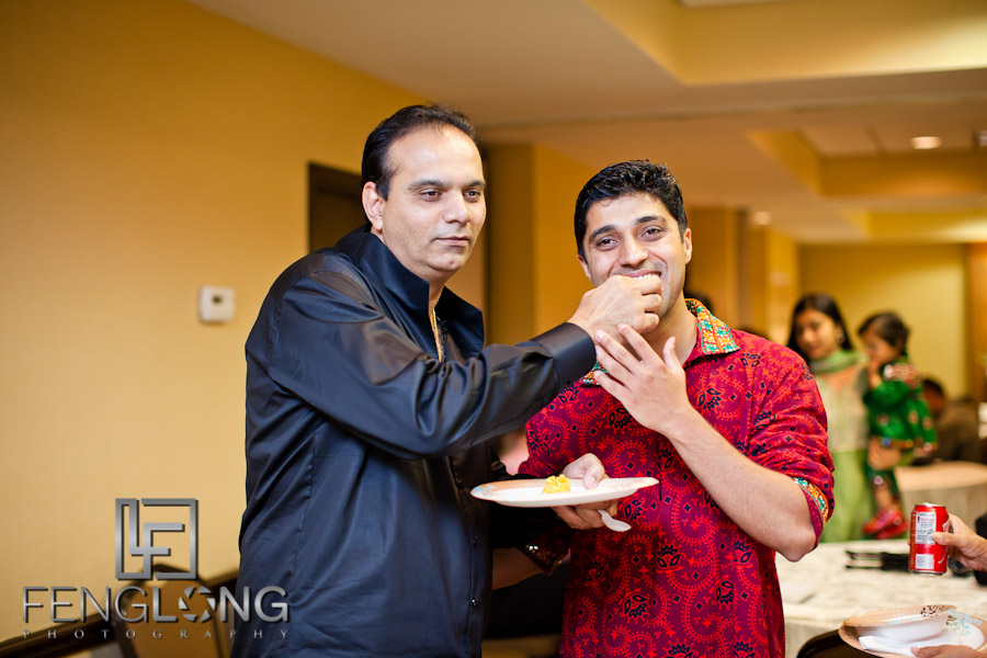 Groom & Guest | Shamz & Sana's Wedding Day 1 | Hyatt Place Atlanta Airport South | Atlanta Indian Photographer