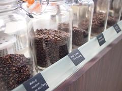 Beans, 93 degrees C coffee, Morse Road