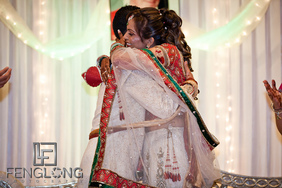 Big Hug After Ring Ceremony | Shamz & Sana's Wedding Day 3 | Zyka Indian Banquet Hall Decatur | Atlanta Indian Photographer