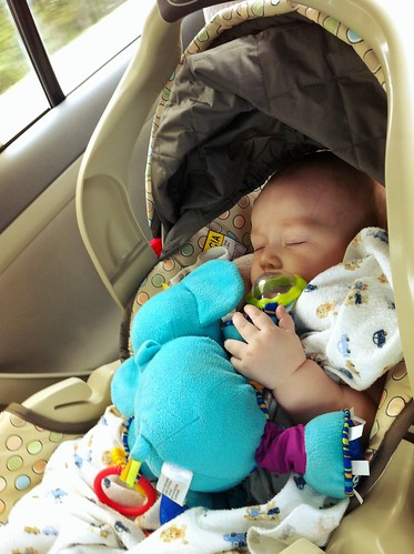 Miles' first ride going to Atlanta