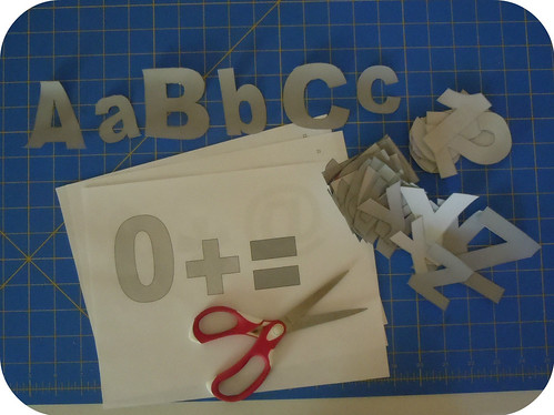 ABC cutouts