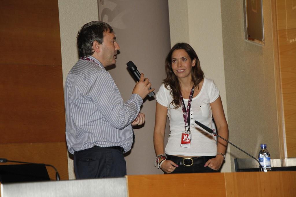 Alberto Bokos y Aitziber Iriarte del Casal de Innobasque