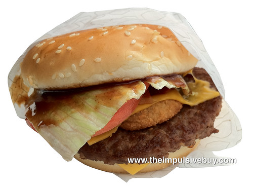 Jack in the Box Outlaw Burger