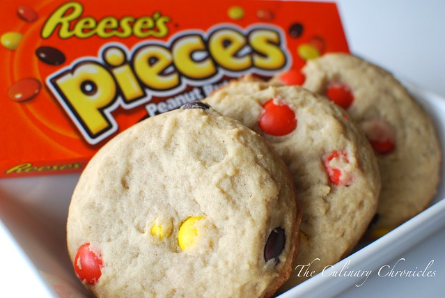 Reese's Pieces-Peanut Butter Cookies