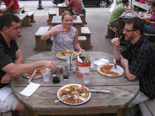 Us at Pizzeria Piccola