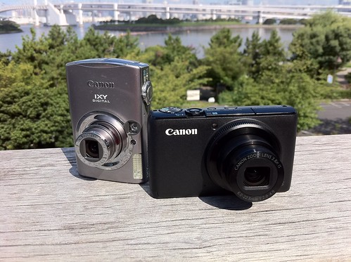 Canon PowerShot S95 and IXY 900 IS