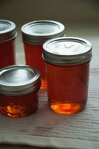 vanilla peach oolong jelly