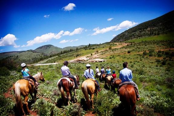 Black Mountain Colorado Dude Ranch horse riding