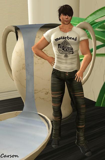 Poison - White Rock Shirt, To Rasgao Jeans