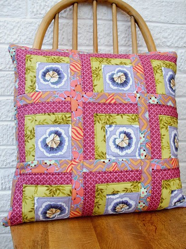 Patchwork pillow / cushion