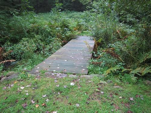 Bridge over stream pre Irene