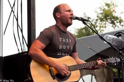 The Rural Alberta Advantage @ Ottawa Folk Festival 2011