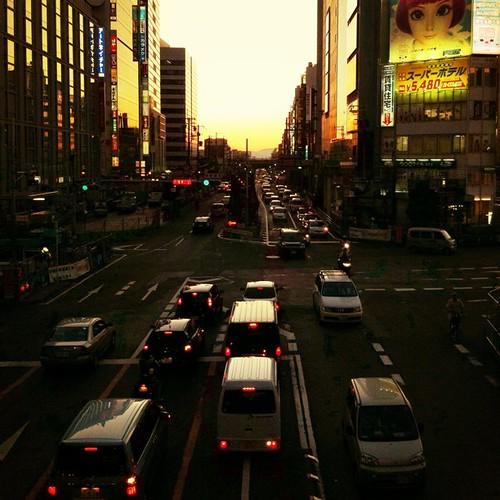 今日も一日、お疲れさまでした。 #sunset #iphonography #instagram