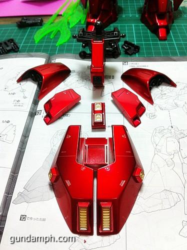 MG Sazabi Metallic Coating (Titanium-Like Finish) (39)