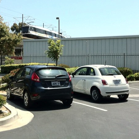 Small Euro Cars @ Residence Inn_photo by Dian Hasan_LAX_CA Aug 2011