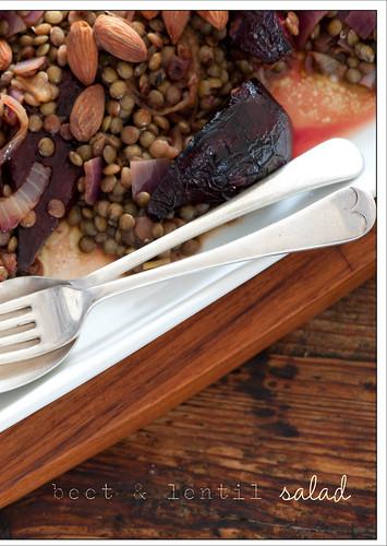 beet & lentil salad2