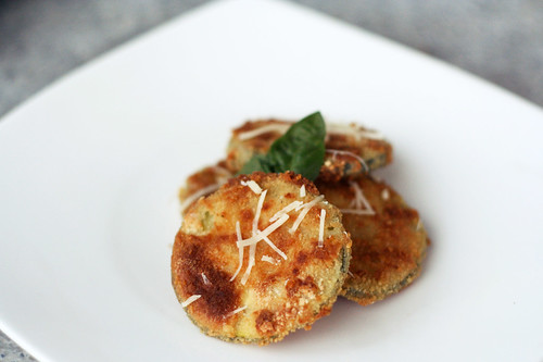 Gluten-Free Crispy Zucchini Rounds